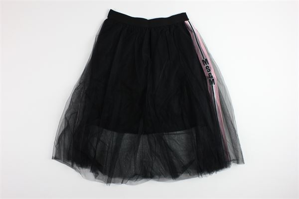 MSGM   skirt   015711BLACK