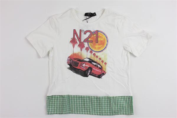 N°21 | t_shirt | 07XY7015448WHITE