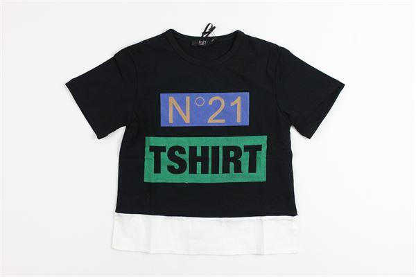 N°21 | t_shirt | 07XY7035448BLACK