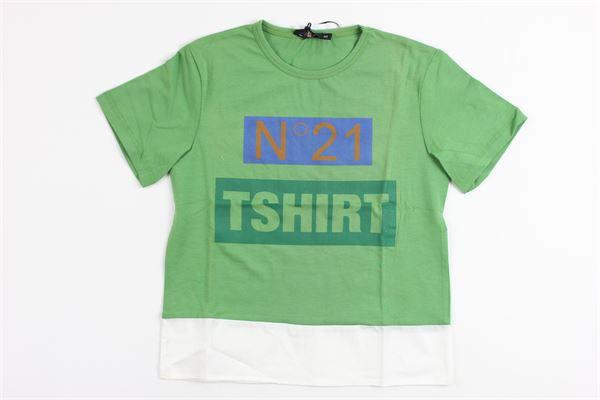 N°21 | t_shirt | 07XY7035448GREEN