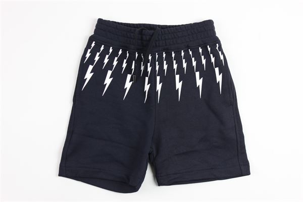 NEIL BARRETT | short pant | 013100BLUE