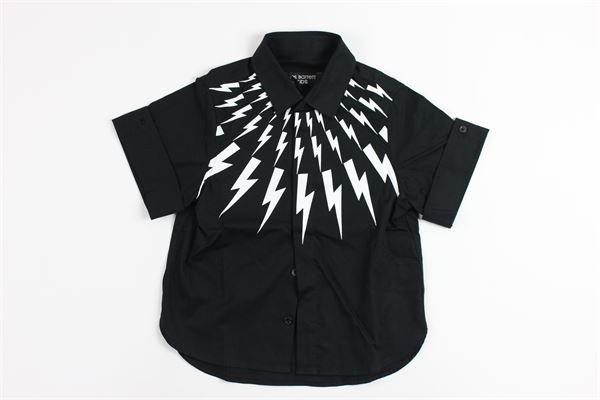NEIL BARRETT | shirt | 013102BLACK