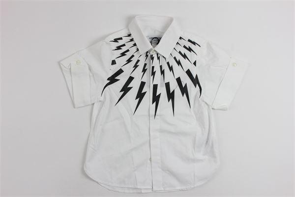 NEIL BARRETT | shirt | 013102WHITE