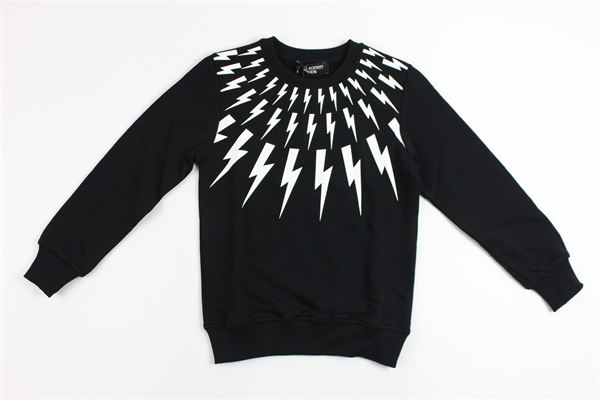 NEIL BARRETT | sweatshirt | 013125BLACK