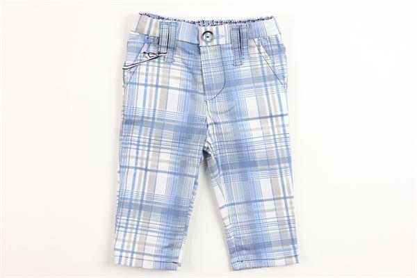 NEILL KATTER | pants | 11636AZZURRO BIANCO