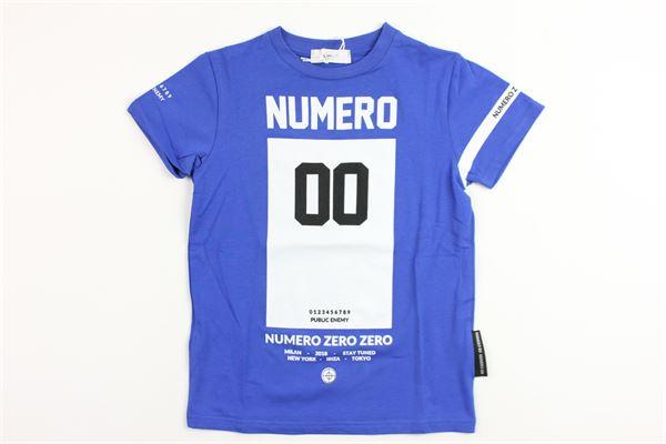 NUMERO 00 | t_shirt | 1636M0065BLUETTE