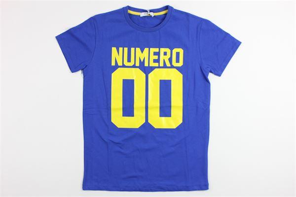 NUMERO 00 | t_shirt | 1636M0073BLUETTE