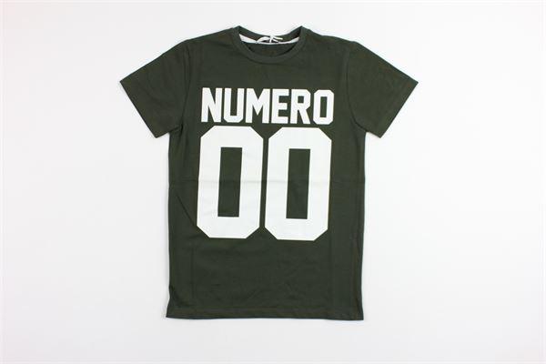 NUMERO 00 | t_shirt | 1636M0073GREEN
