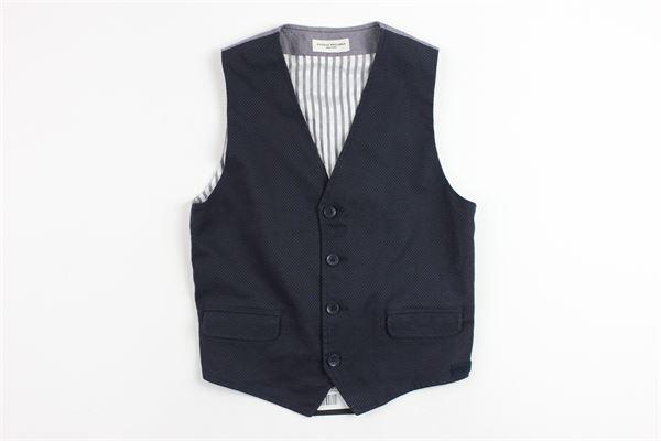 PAOLO PECORA | waistcoat | 9284BLUE
