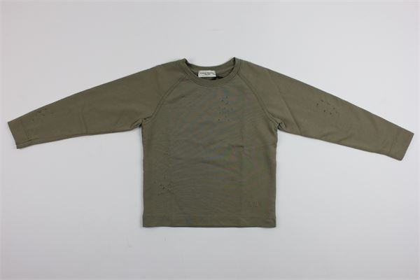 PAOLO PECORA | sweatshirt | PP1355VERDE MILITARE
