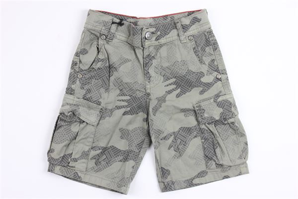 PLEASE | short pant | RB07L92B06VERDE MILITARE