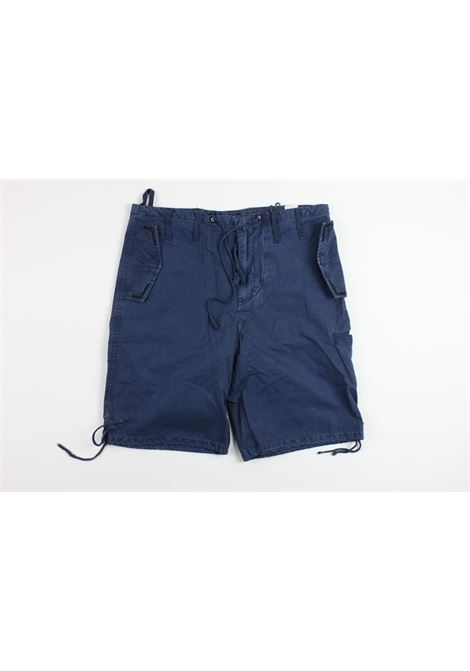 RAG RECYCLE | short pant | RM1217BLUE