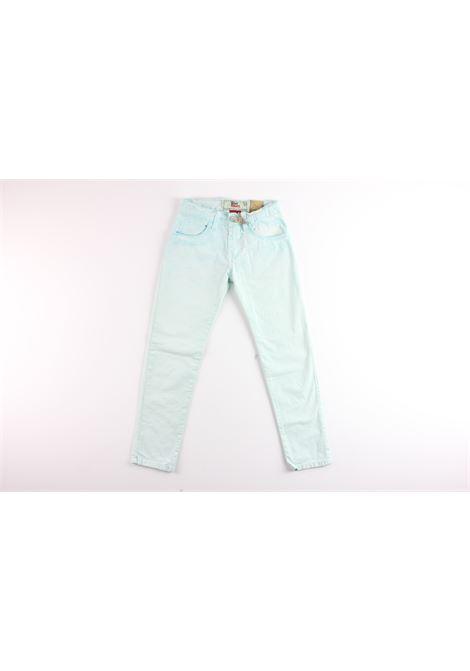ROY ROGER'S   pants   CRBB002VERDE ACQUA