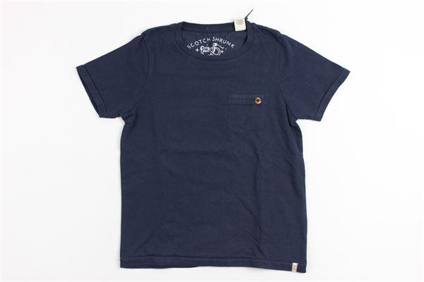 SCOTCH & SODA | t_shirt | 8882BLUE