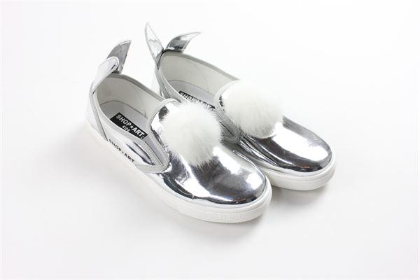 SHOPART   shoes   6076SILVER