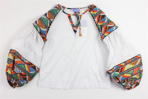 STELLA JEAN | shirt | CA010243WHITE
