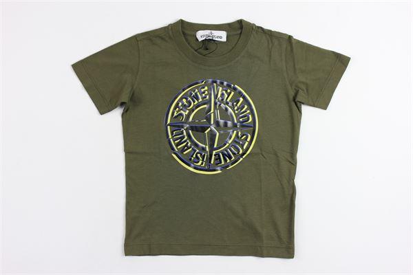 STONE ISLAND | t_shirt | 671621051V0030GREEN