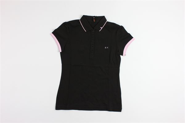 SUN68 | shirt | 10403BLACK