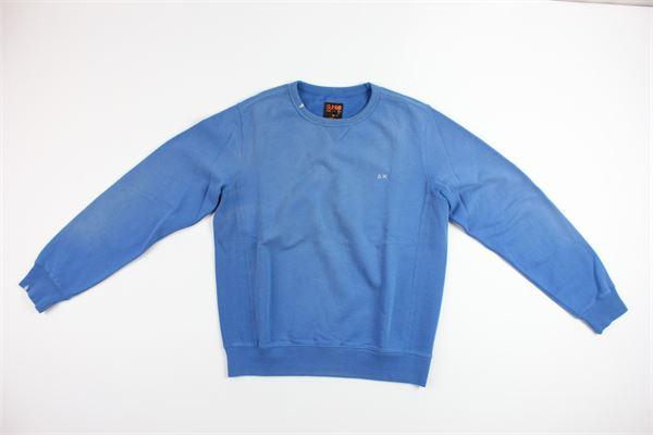 SUN68 | sweatshirt | 12321BLUETTE
