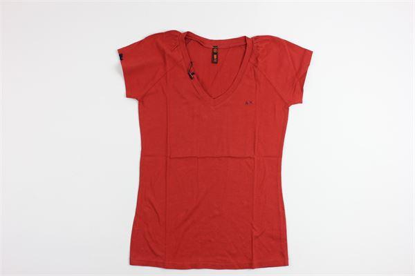 SUN68 | t_shirt | 12434RED