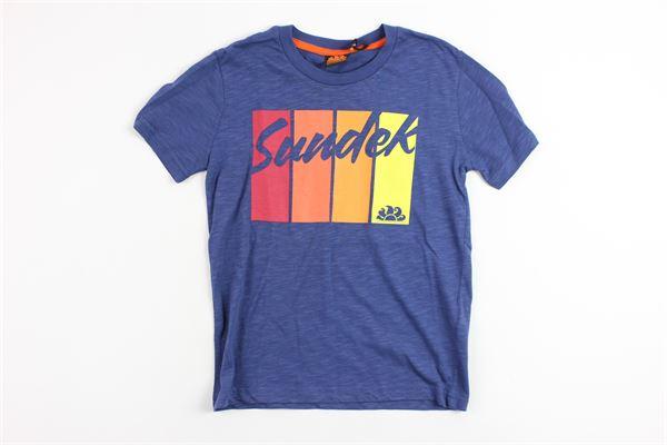 SUNDEK   t_shirt   10032BLUE