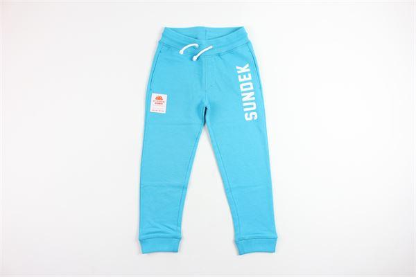 SUNDEK   pants   10048AZZURRO