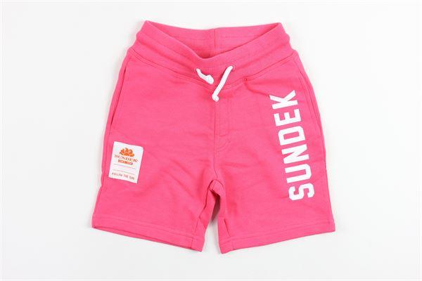 SUNDEK   shorts   10056PINK