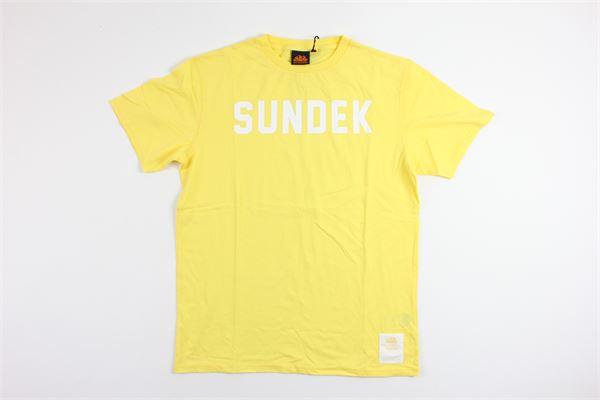 SUNDEK   t_shirt   B797TEJ7800YELLOW