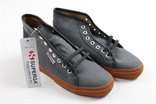 SUPERGA   shoes   2175GREY BLUE