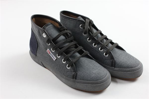 snickers allacciata SUPERGA | Scarpe | 2175GREY BROWN