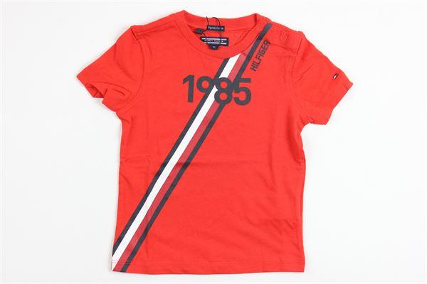 TOMMY HILFIGER | t_shirt | KB0KB03910610RED