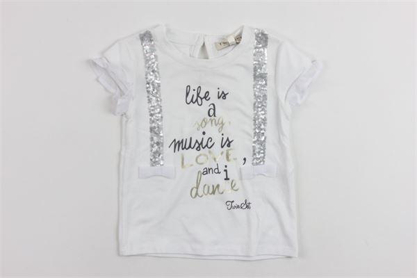 TWINSET   t_shirt   8633WHITE