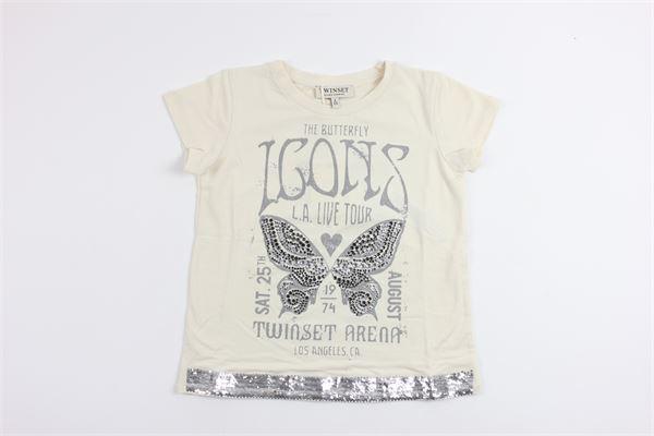 TWINSET   t_shirt   GS82A7WHITE