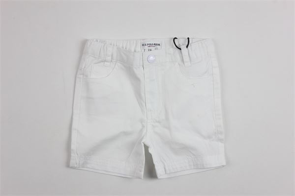 U.S. POLO   short pant   9921WHITE