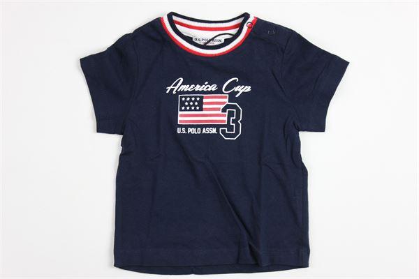 U.S. POLO   t_shirt   9925BLUE
