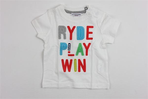 U.S. POLO   t_shirt   9927WHITE