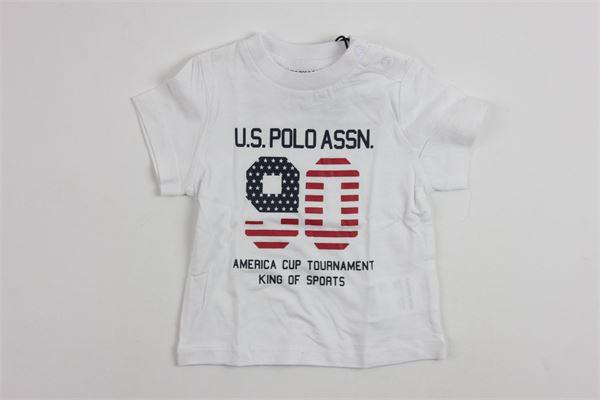 U.S. POLO   t_shirt   9928WHITE