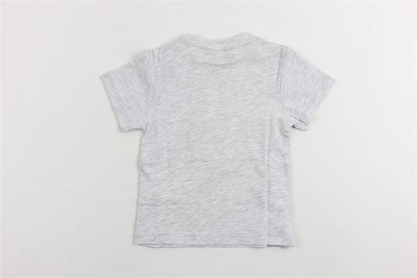 t-shirts mezza manica tinta unita con stampa 3 POMMES | T-shirts | 10993GRIGIO