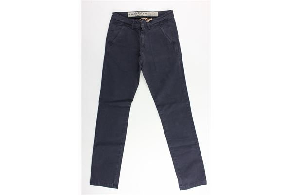40WEFT | Trousers | WOLVER4247BLU