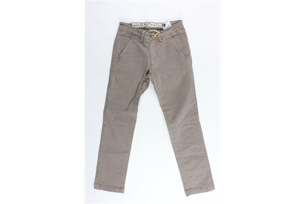 pantalone tasca america tinta unita 40WEFT | Pantaloni | WOLVER4247FANGO