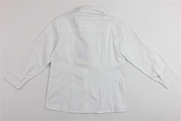 camicia manica lunga tinta unita ALETTA | Camicie | 8663BIANCO