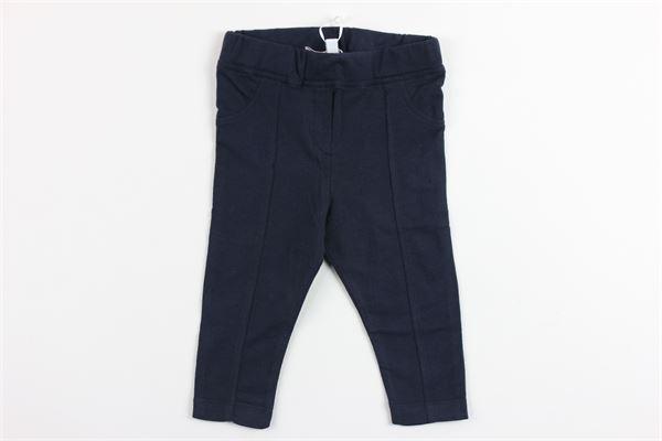 pantalone modello leggins tinta unita ALETTA   Pantaloni   C77380BLU