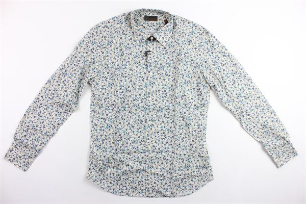 camicia manica lunga microfantasia ALTEA | Camicie | CAMICIA1BEIGE