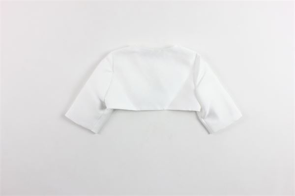 giacca coprispalle elegante tinta unita AMAYA | Giacche | 111290HBIANCO