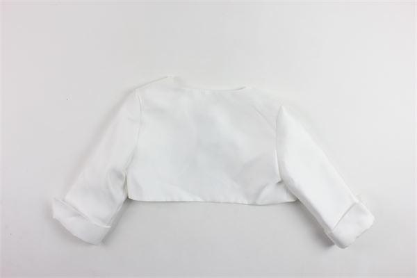 giacca coprispalle elegante tinta unita AMAYA | Giacche | 111870HBIANCO