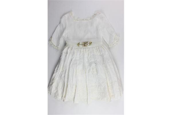 abito cerimoniale manica lunga con ricami e cintura AMAYA | Abiti | 31143MFPANNA
