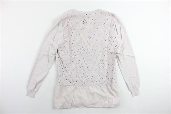 camicia manica lunga tinta unita ANIS WHITE | Camicie | 831215ROSA