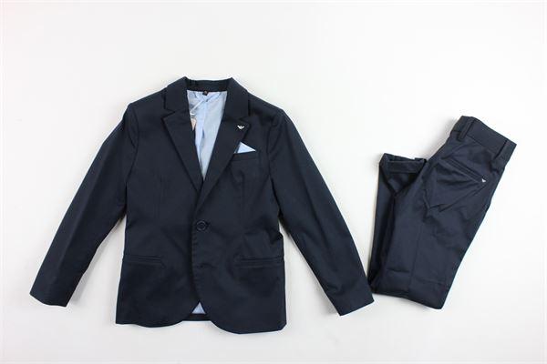 completo giacca più pantalone tinta unita ARMANI | Completi | 3Y4V01BLU