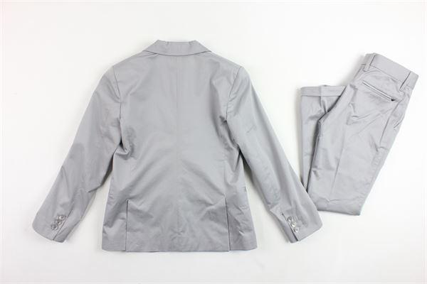 completo giacca più pantalone tinta unita ARMANI | Completi | 3Y4V01GRIGIO