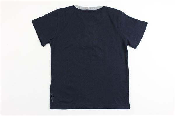 t-shirts mezza manica con stampa logo armani ARMANI | T-shirts | 6Y4D014J09ZZBLU